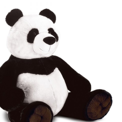 peluche panda assis 95 cm plush company mynoors. Black Bedroom Furniture Sets. Home Design Ideas