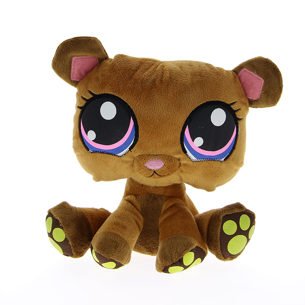 Peluche pet shop chien marron 24 cm barrado mynoors - Image petshop ...