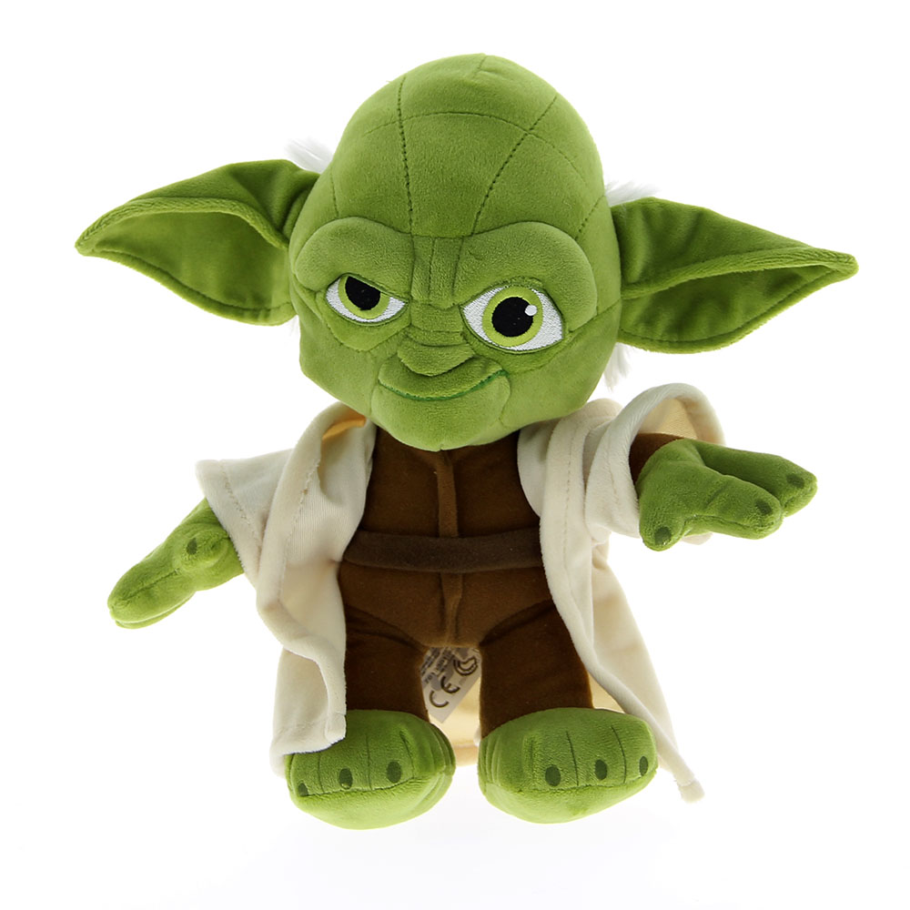 peluche yoda star wars 25 cm disney mynoors. Black Bedroom Furniture Sets. Home Design Ideas