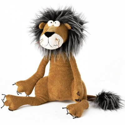 peluche lion metusa leo 33 cm beasts mynoors. Black Bedroom Furniture Sets. Home Design Ideas